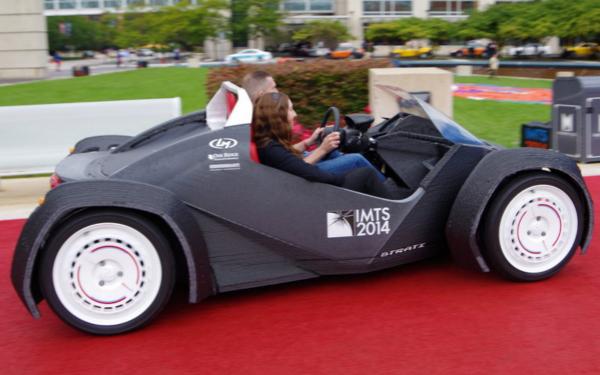 3D打印汽车问世:耗时44小时 售价11万