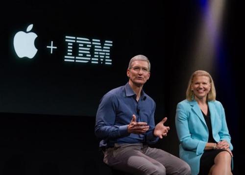 宿敌变基 友:苹果和IBM想干嘛?