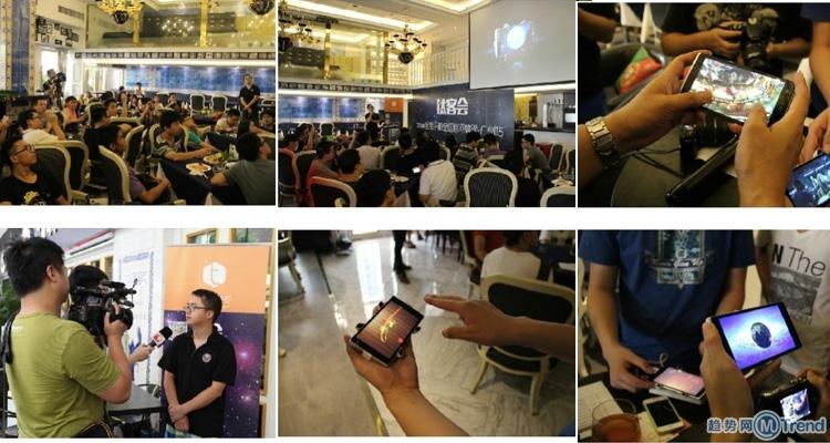 Takee1上市时间全国巡回体验告诉你:ChinaJoy美女试用亿思达钛客1全息手机