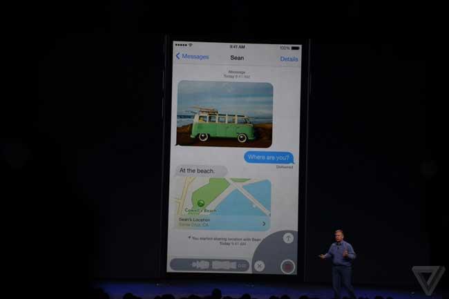 ,苹果iOS8发布会:功能、支持设备