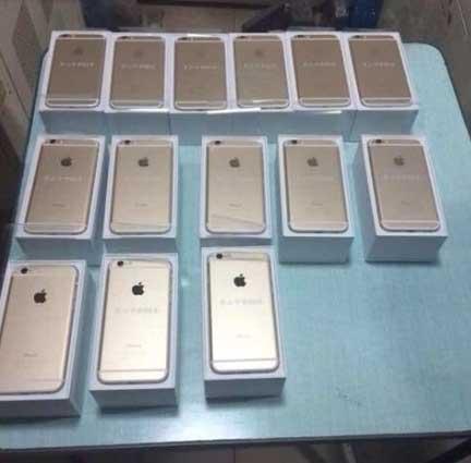 ,Apple,土豪送iPhone6:茅山中学钱峰雷 人不傻钱多多
