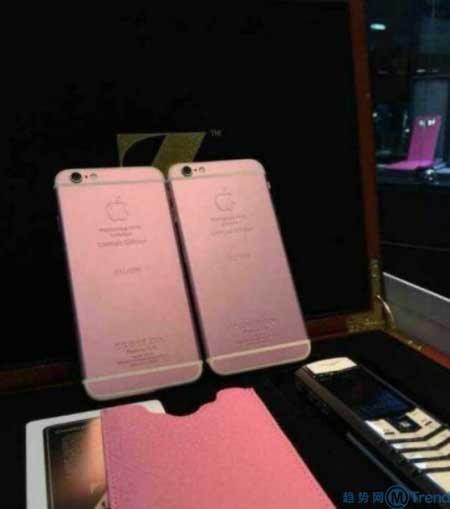 ,店长,产品经理,Apple,Samsung,智能手机,iPhone6:粉色版全球限量200台 印度市场遇冷 原型机售价近10万元