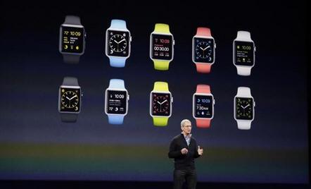 ,Apple,苹果手表各版本型号功能配置参数:普通版 运动版 时尚版