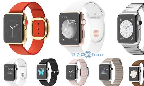 苹果手表款式选哪个好有方法:38种表盘表壳表带搭配大全