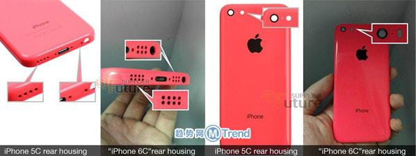 iPhone6c爆照:与iPhone5C iPhone6有什么区别变化?