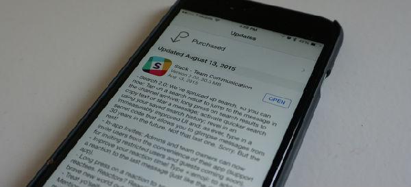 苹果用户的福音:IOS的Slack升级了!