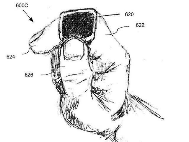苹果新专利:智能戒指