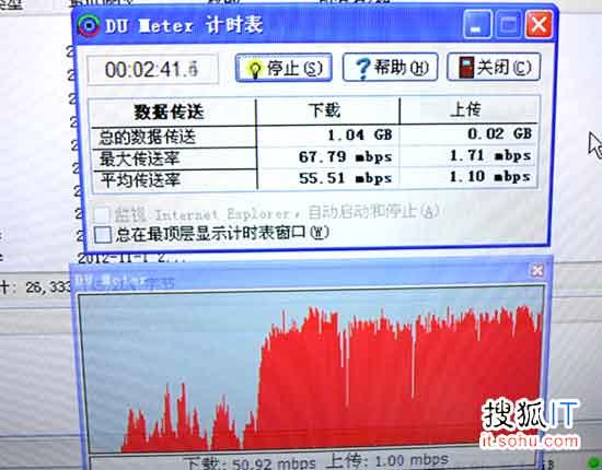 中移动2013年4G达商用规模:实测下行速率达68M