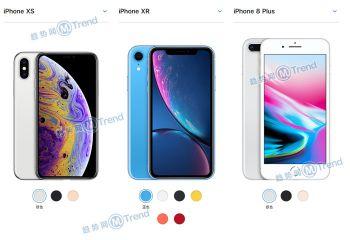 iPhoneXS XR 苹果8P差异:选哪个更好用?最详细参数比较