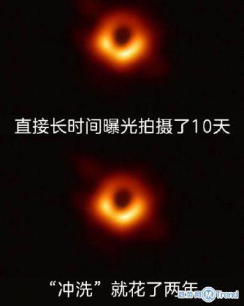人类第一张黑洞照片太神奇!黑洞照片怎么拍的,版权归谁