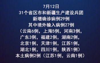 热点:江苏新增本土确诊病例1例 云南新增1例本土确诊