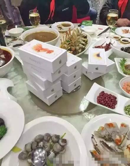 ,苹果,钱峰雷,iPhone,宁波章姓钱多多送同学每人一部苹果iPhone6s玫瑰金