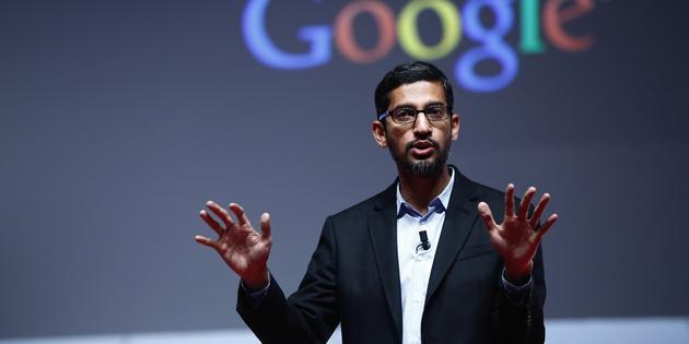 """,谷歌,谷歌CEO:未来""""无形""""人工智能"""