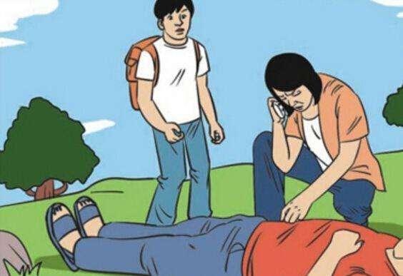 护士救人却被当成肇事者 挨骂仍坚持救人