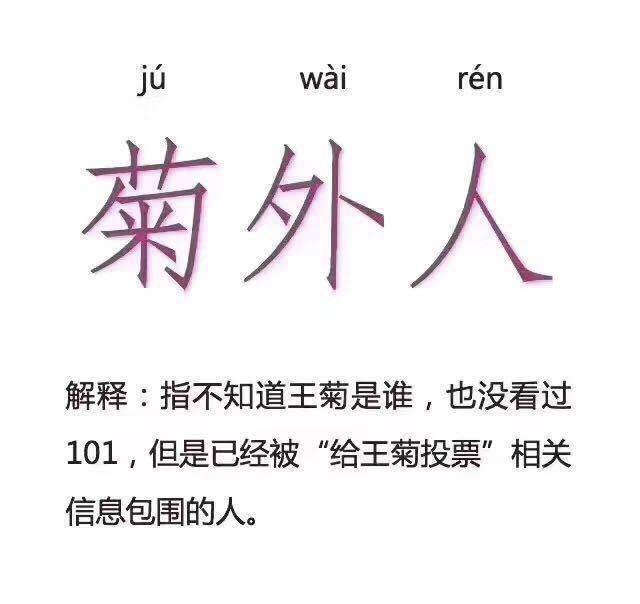 王菊:创造101最大黑马