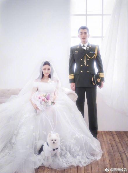 ,张馨予军婚嫁给军三代何捷 不能再乱黑了