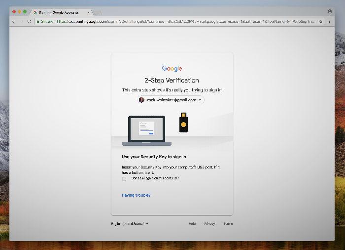 ,黑客,谷歌,这是谷歌的泰坦安全密钥