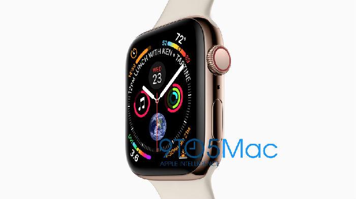 ,苹果,iPhone,苹果发布会前,官方发布的iPhone XS和Apple Watch 4图片泄露