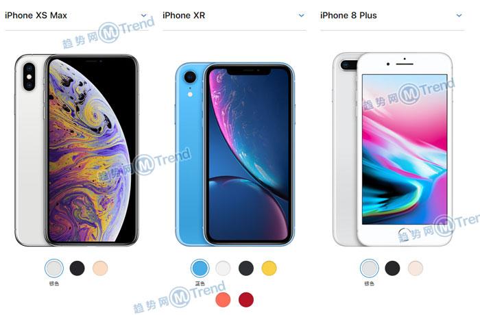 ,苹果,iPhone,买苹果XR XSMAX还是8Plus 7P?大屏iPhone哪个好最全对比