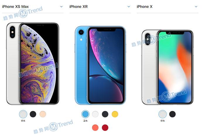 买iPhoneXSMax XS还是XR X好?全方位对比X系列哪个最划算