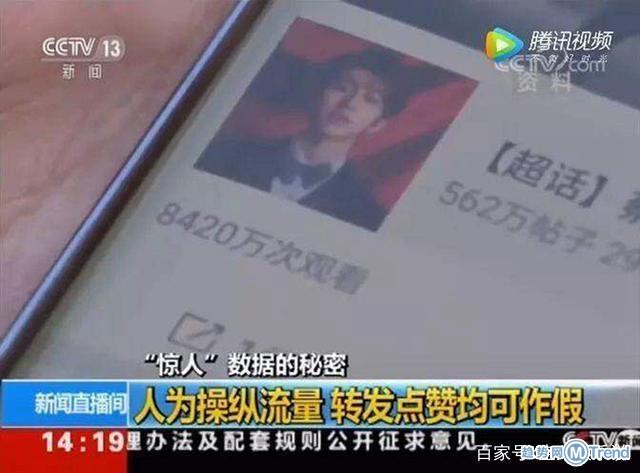 今日热点:流量明星数据造假蔡徐坤遭央视曝光 特朗普获最差男主