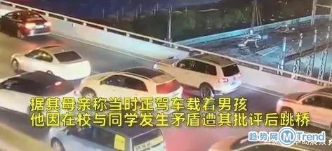 今日热点:上海17岁男孩跳桥 郑秀文原谅许志安