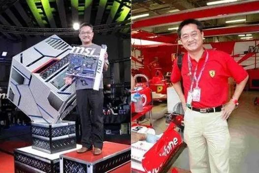 微星科技CEO江胜昌坠亡