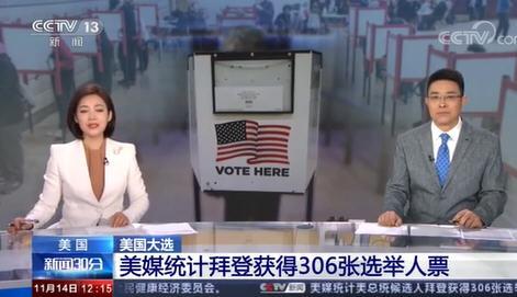 拜登获306张选举人票特朗普获232张!特朗普诉讼在多州被驳回