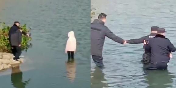 热点:警察注视女生溺亡被停职 律师谈女孩在警察注视下溺亡