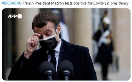 热点:法国总统马克龙新冠检测呈阳性 英国议员夺走女王权杖抗议