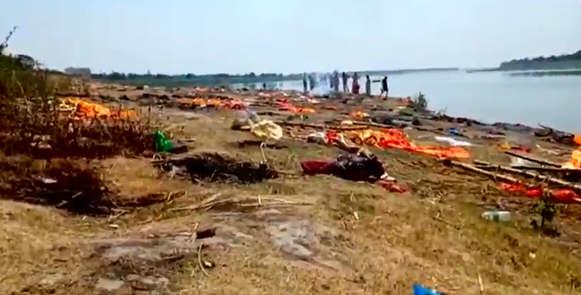 热点:印度恒河出现大量浮尸 菲律宾进入国家灾难状态