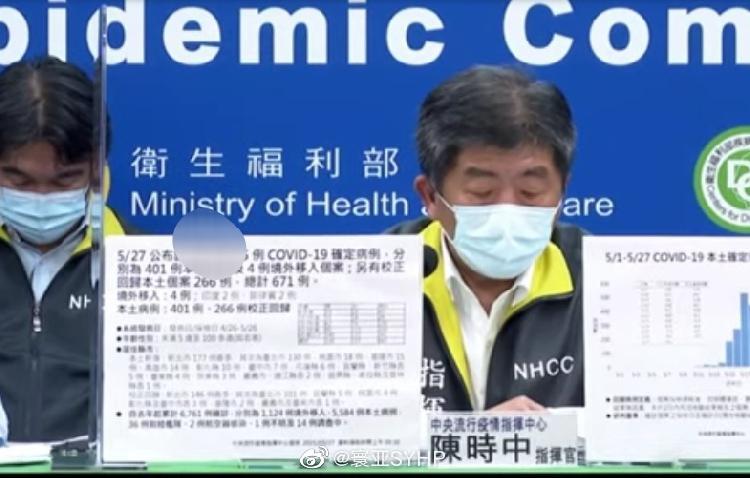 台湾新增667例本土死亡13例