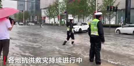 河南洪涝已致33死8人失踪