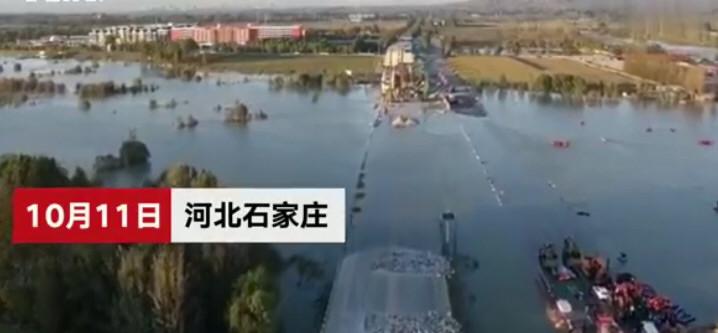 河北通勤班车坠河已致13死