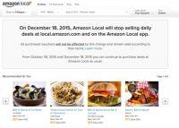 亚马逊本地服务将于十二月关闭