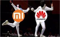 小米华为新霸主争夺战打响 智能手机市场座次要变了