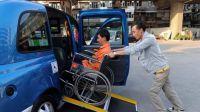 无障碍网约车的出现:乘坐轮椅人士的福音