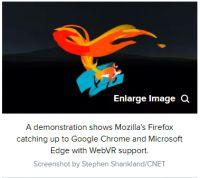 Firefox很快将帮助你沉浸在VR网络中
