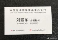 刘强东上任河北平石头村名誉村长,联合国小秘书马云尬笑