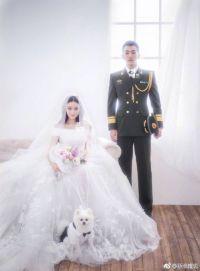 张馨予结婚嫁给军三代何捷 军婚军嫂不能再乱黑了