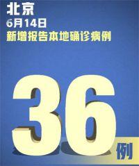 北京新增本土病例36例 北京疫情扩散的风险很高