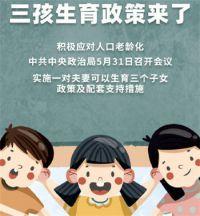 热点:中央:三孩生育政策来了 三孩政策配套支持措施来了