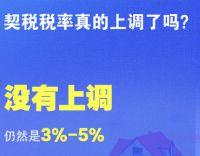 夫妻过户子女继承房产免征契税!北京环球影城门票价格公布