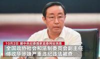 傅政华被查 司法部连夜开会!女律师与官员丈夫受贿千万